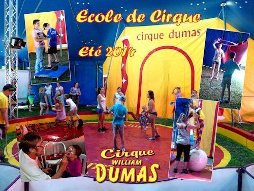 Ete 2014 ecole de cirque pm